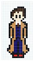 Perler 10th Doctor version2