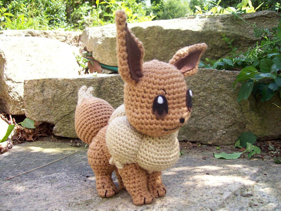 Amigurumi Pokemon Eevee : Eevee Amigurumi by DarkWater9 on DeviantArt