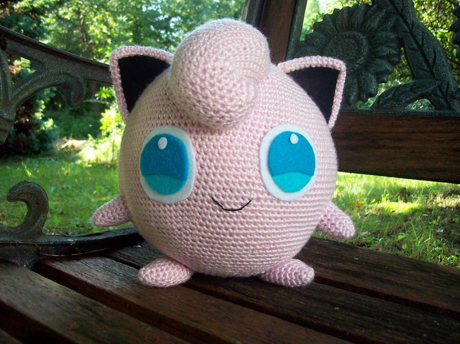Amigurumi Sad Pokemon : Jigglypuff Amigurumi by DarkWater9 on DeviantArt