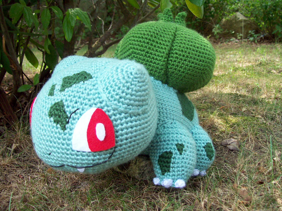 Bulbasaur Amigurumi by DarkWater9 on DeviantArt