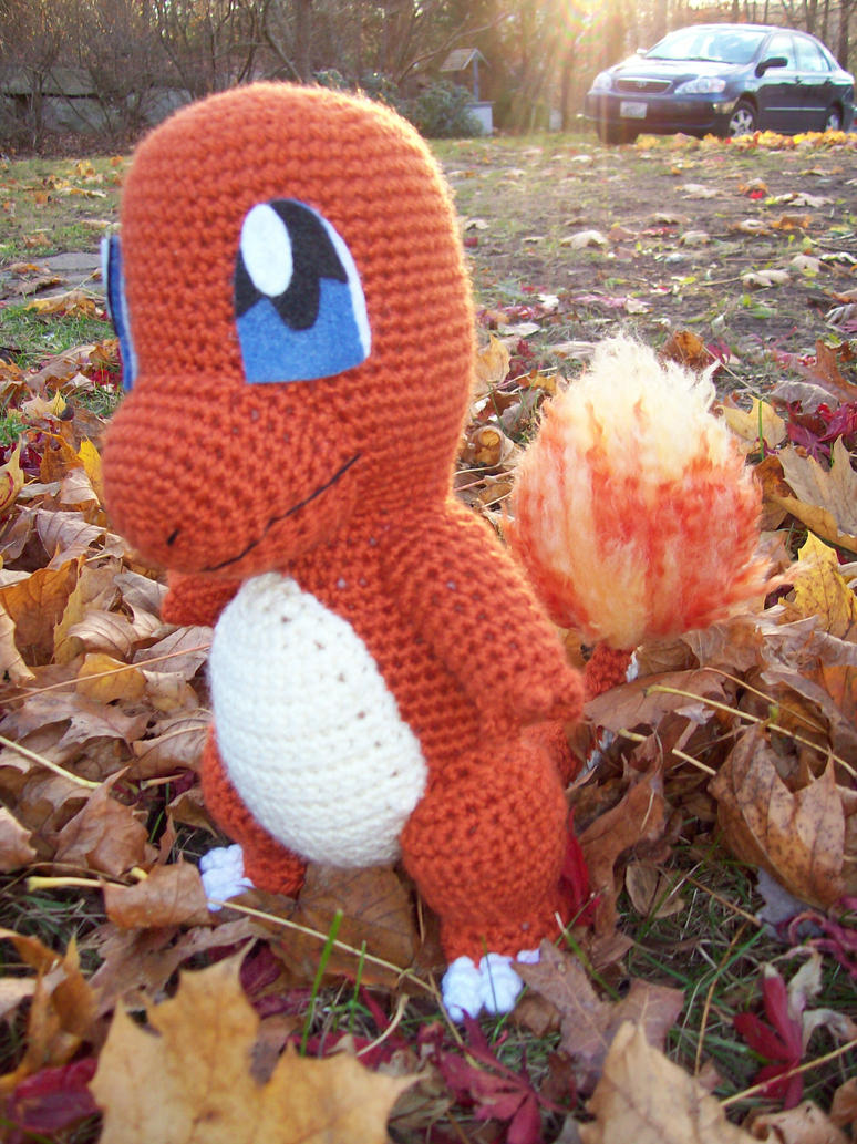 Charmander Amigurumi Free : Charmander Amigurumi by DarkWater9 on DeviantArt