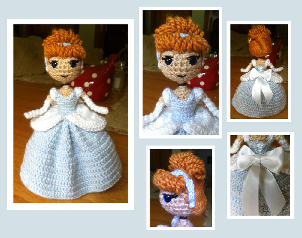 Cinderella Amigurumi by DarkWater9 on DeviantArt