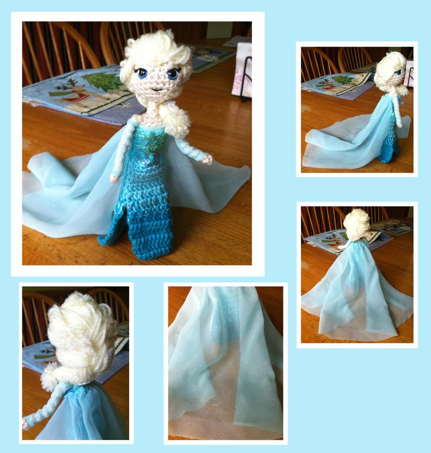 Amigurumi Elsa : Elsa Amigurumi by DarkWater9 on DeviantArt