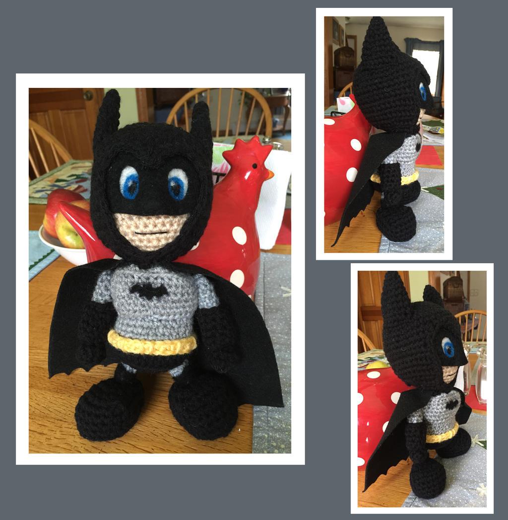 Batman Amigurumi by DarkWater9 on DeviantArt