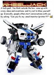 You are Wheeljack