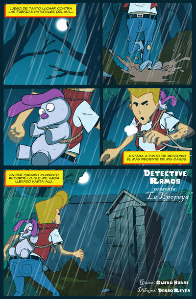 Detective Ramos capitulo 5 pag 1 by dreyes811