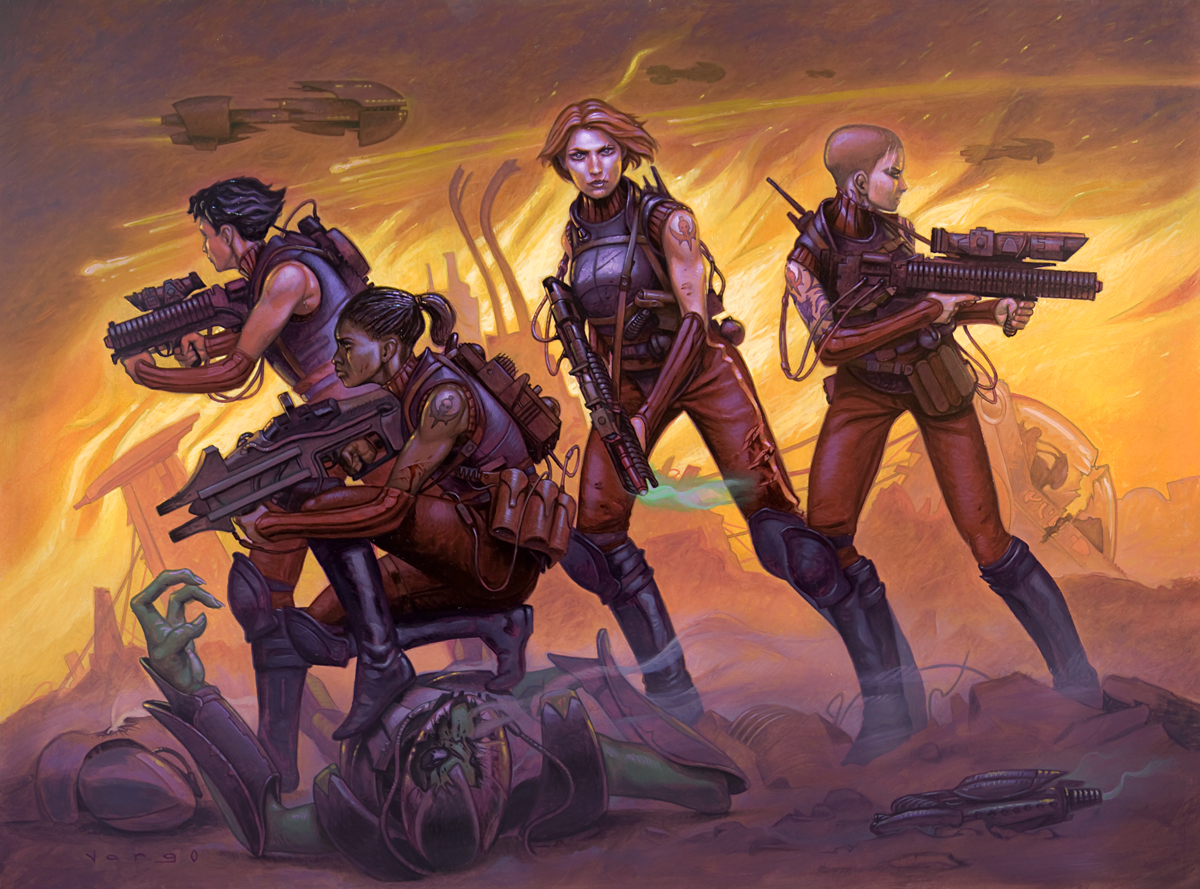 Fireteam Omega by DavidVargo
