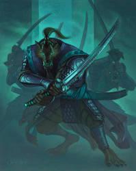 Worgen Samurai by DavidVargo
