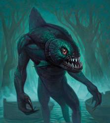River-Beast by DavidVargo