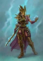 Storm Wizard by DavidVargo