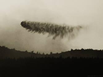 A Sky Caterpillar of Death by M-Tau