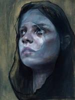 oil sketch by M-Tau