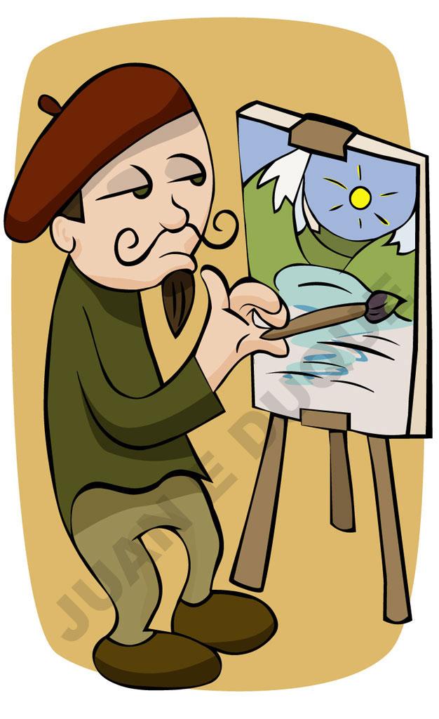 Painter by Juanimator