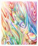 Crayon Rainbow Fish
