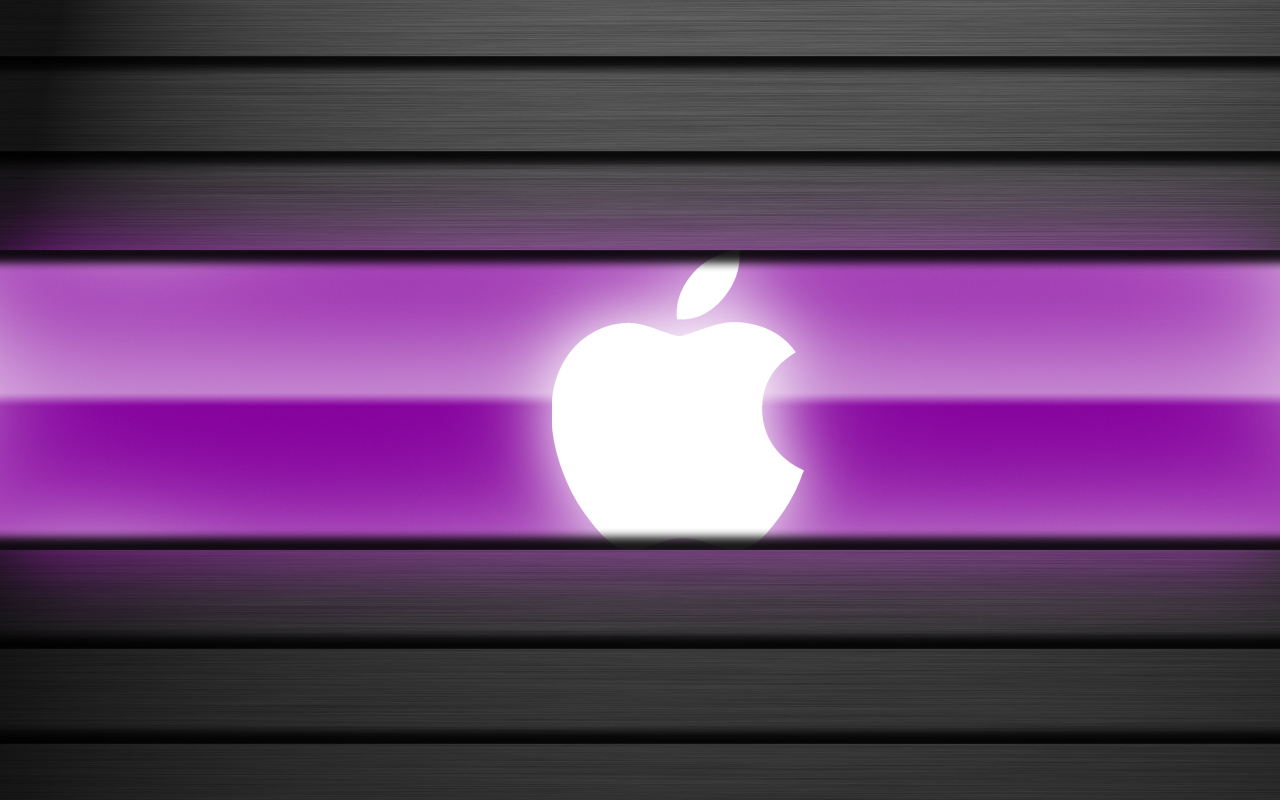 Mac OS X Wallpaper Purple by chris2fresh