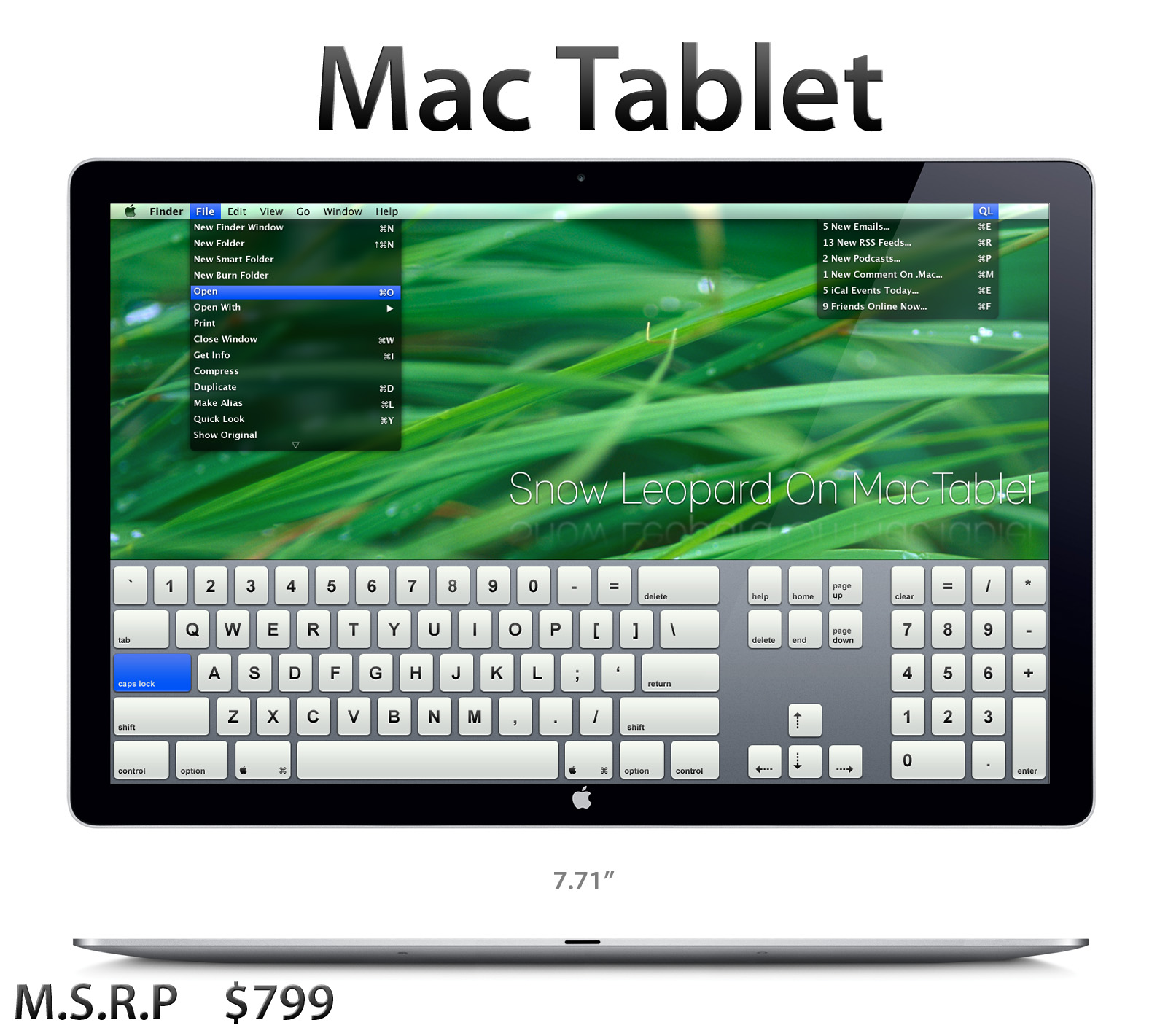Mac Tablet Pro by chris2fresh on DeviantArt