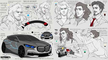 Thorki Concept Art for Graphic Novel by Rabies-Lyssavirus