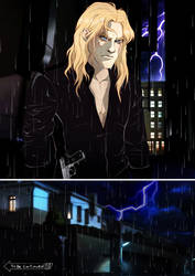 Thor's  Rage. Graphic Novel Fragment by Rabies-Lyssavirus