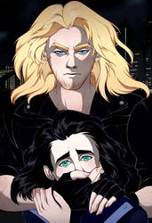 Thor x Loki. In the Trap by Rabies-Lyssavirus