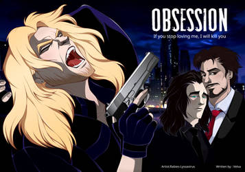 Obsession  Bookend Illustration for graphic novel  by Rabies-Lyssavirus