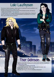 [+Video] Thor and Loki Character Description Page by Rabies-Lyssavirus