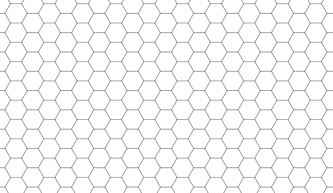Hexagon Pattern Png