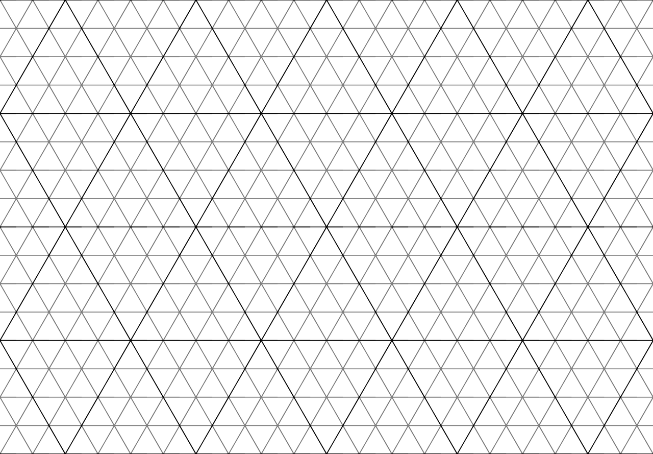 Triangle pattern V2
