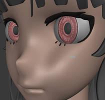 3D Anime Eye V3