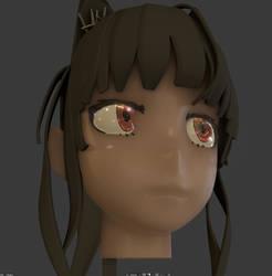 3D Anime Eye V3 - EEVEE