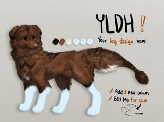 Warm Dog - Jellybean dragon YLDH - OPEN by kavlri