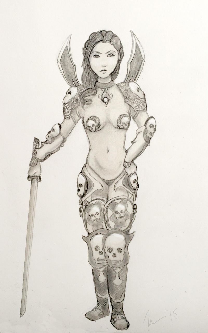 Annika (Skyrim Mods FTW) by lutra13