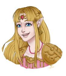 SSBU - Zelda