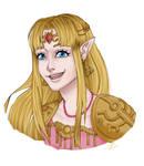 SSBU - Zelda by Eleo-choco