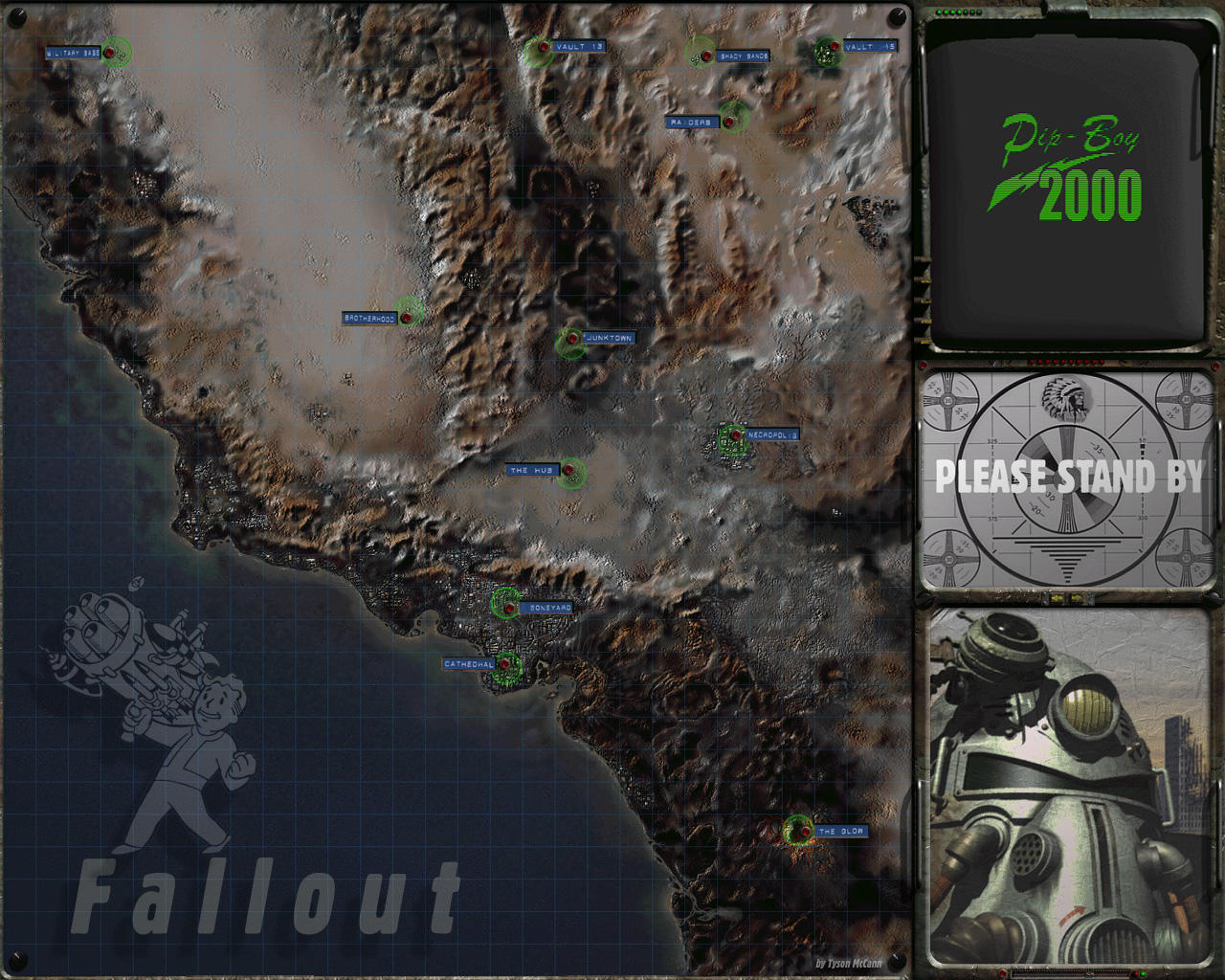 Fallout World by applebrown