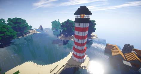 Minecraft Lighthouse