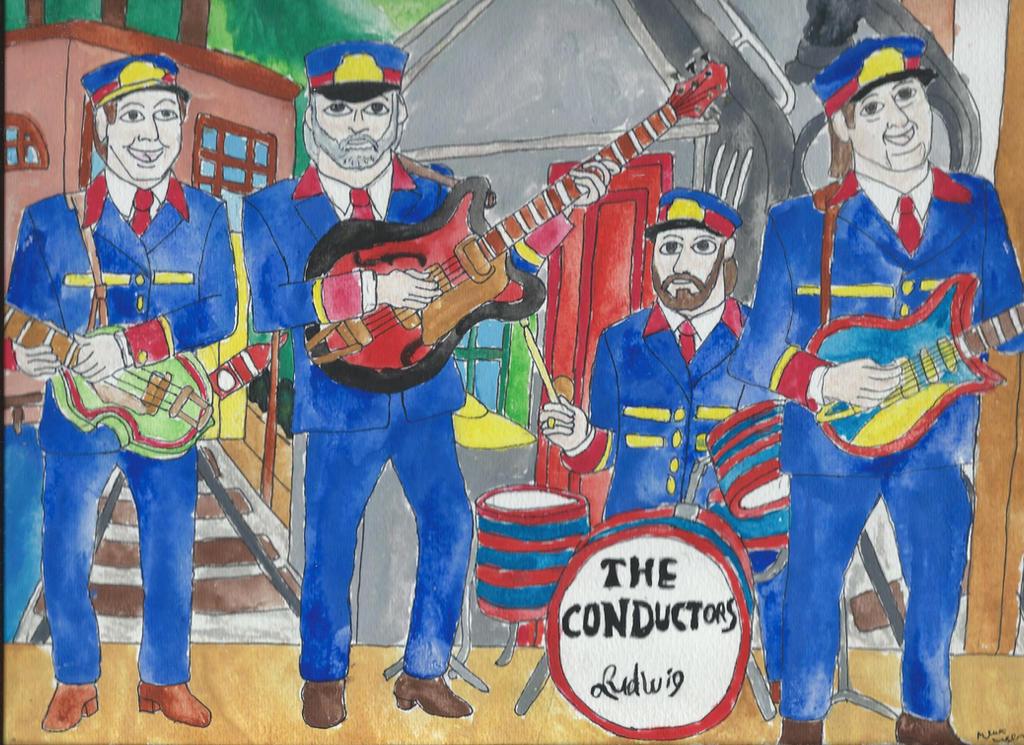 Mr Conductors Rock Band By Merrittwilson
