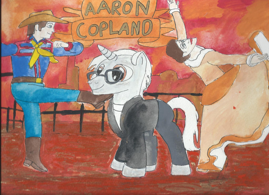 My little pony composers aaron copland by merrittwilson on for Aaron copland el salon mexico score