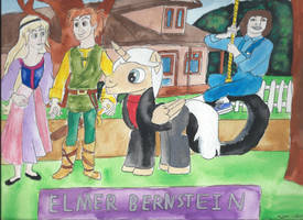 MY Little Pony Composers Elmer Bernstein by merrittwilson