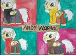 My Little Pony Artists Andy Warhol