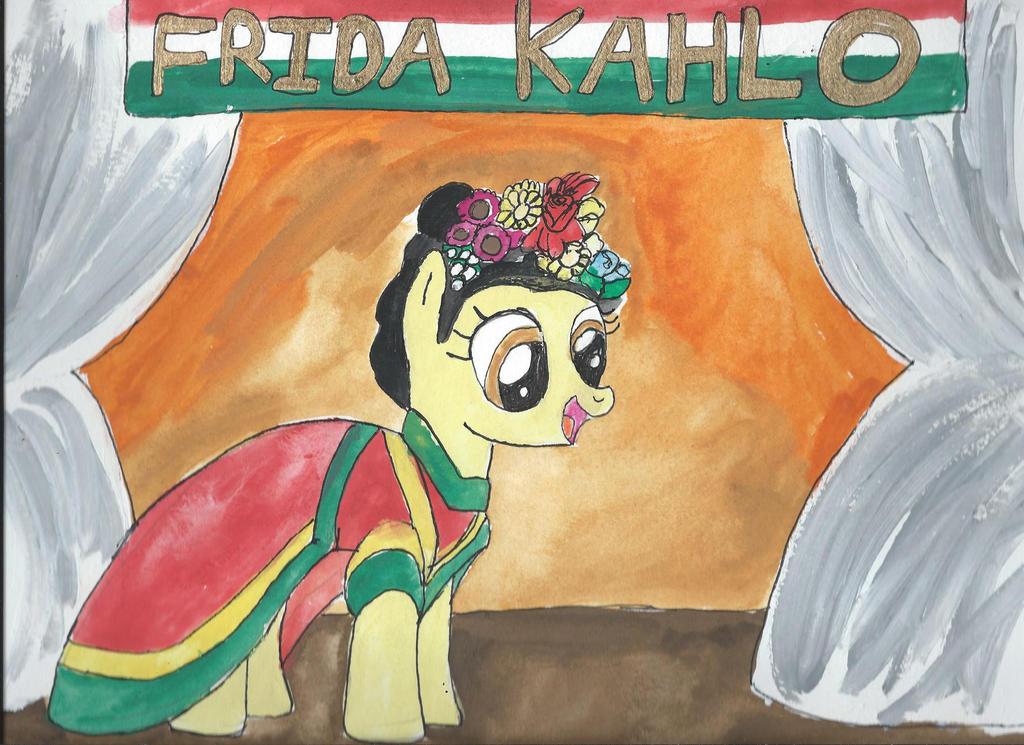 My Little Pony Artists Frida Kahlo by merrittwilson ...