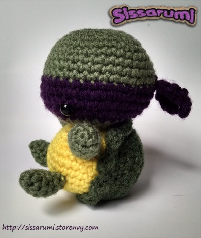 Donatello Crochet Plush by ChloeCorp
