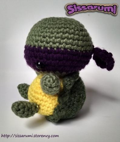 Donatello Crochet Plush by ChloeCorp