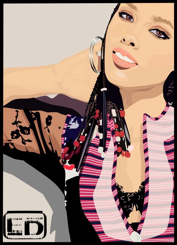 Alicia Keys 10 Years by xterminador