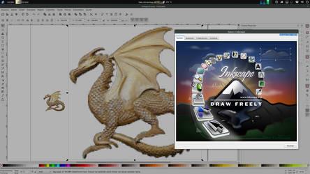 Inkscape trace pixel art by xterminador