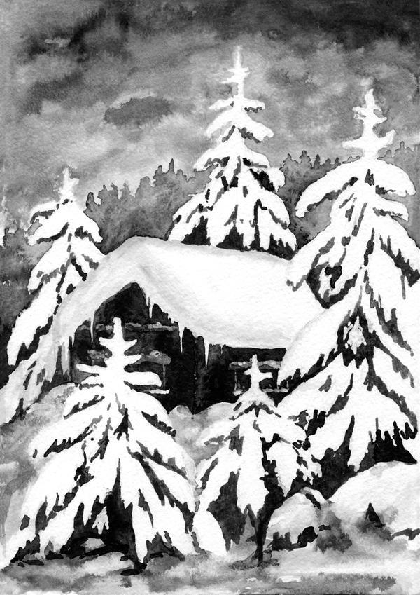 Winter by werepine