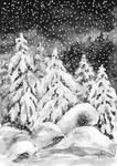 Sleeping forest by werepine