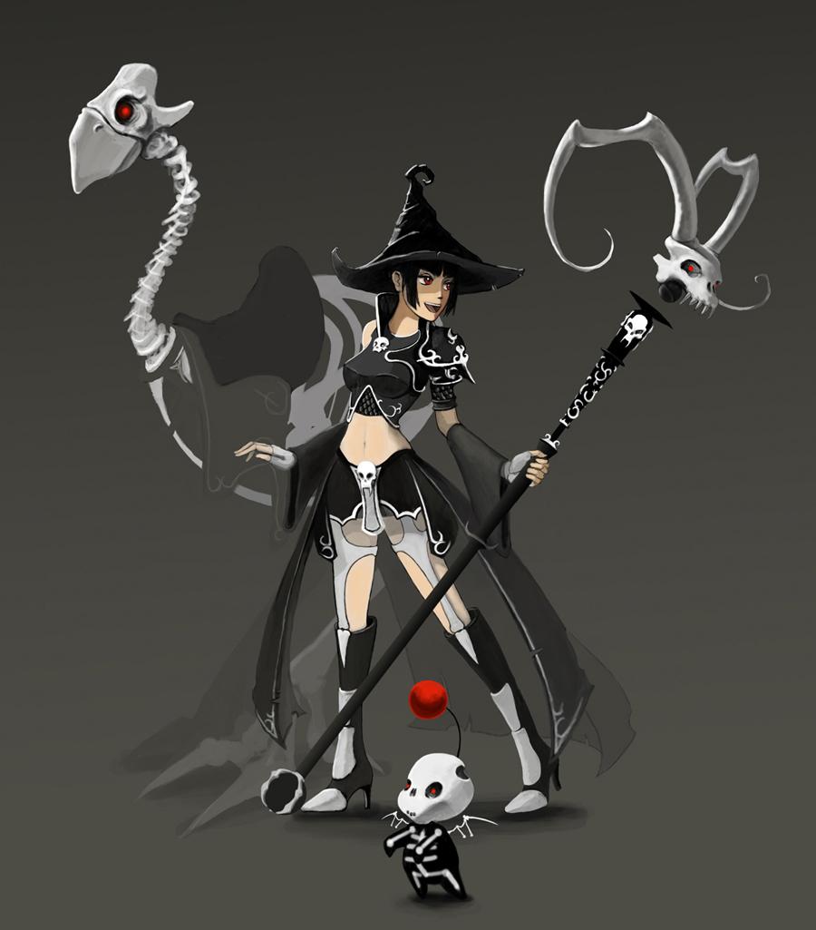 Fantasy Earth Zero: Dark Mage by HireKevinMiller