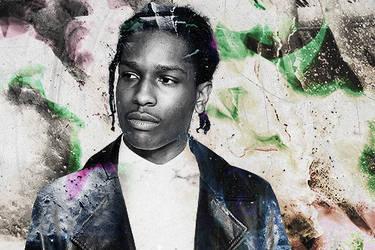 A$AP Rocky by SebartGZ