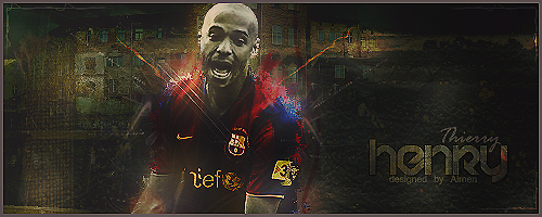 Thierry Henry by ForcaBarca