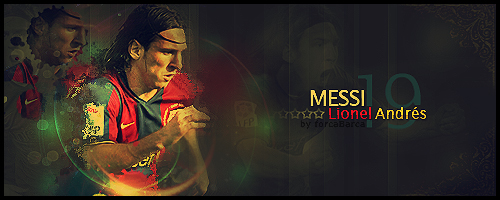 Lionel A. Messi by ForcaBarca